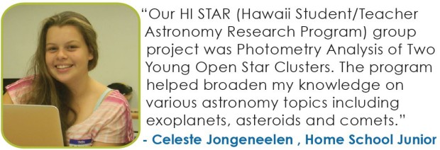 Focus Maui Nui Hawaii Student Teacher Astronomy