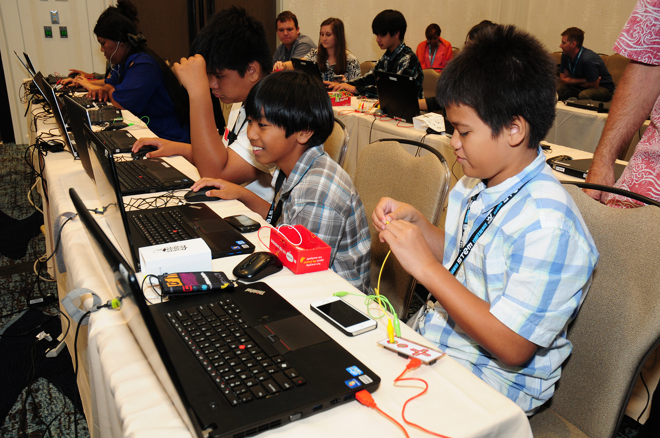 Winners all at the 7th Annual Hawaii STEM Conference