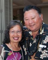 Mayor Alan Arakawa and his wife Ann